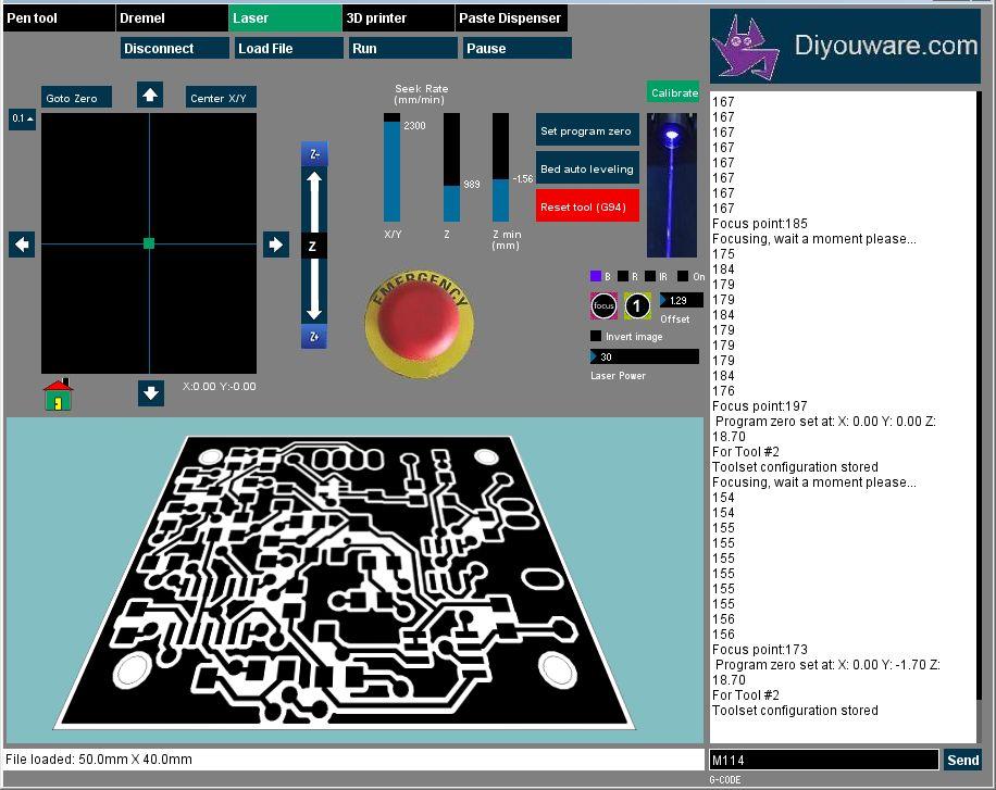 Photoengraving PCBs using the Laser Toolhead   Diyouware com